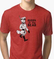 Rudek and the Bear Tri-blend T-Shirt