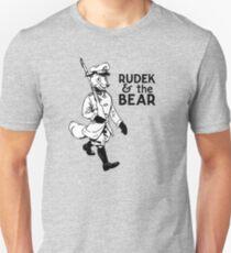 Rudek and the Bear Slim Fit T-Shirt