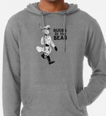 Rudek and the Bear Lightweight Hoodie