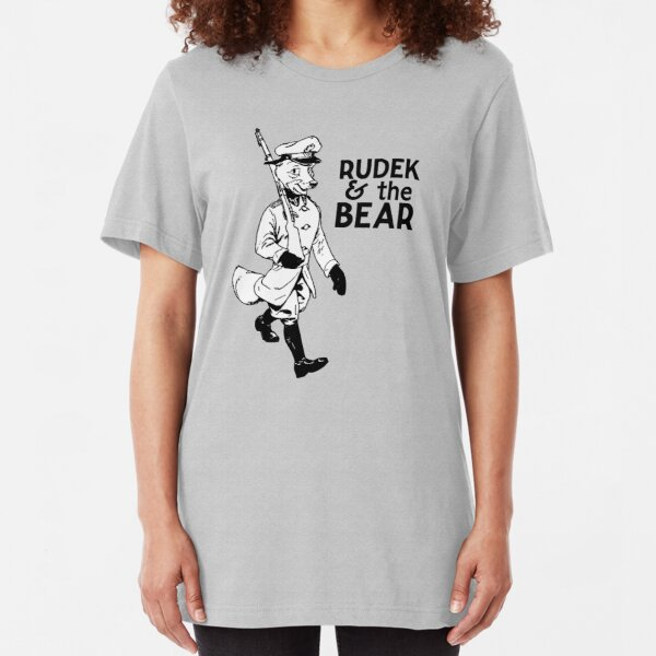 Rudek and the Bear Slim Fit T-Shirt