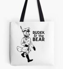Rudek and the Bear Tote Bag