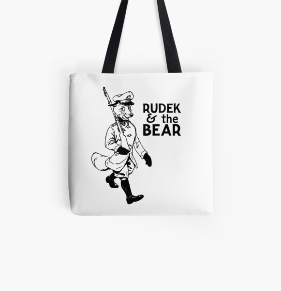 Rudek and the Bear All Over Print Tote Bag