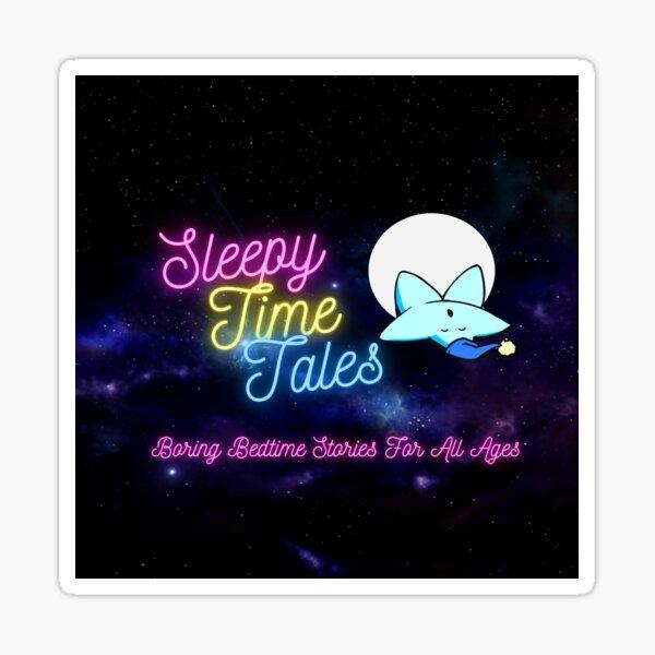 Sleey Time Tales Logo June 2021 Sticker