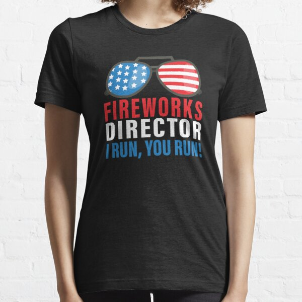Standard Unisex T-shirt 4th July Fireworks In The Usa Flag