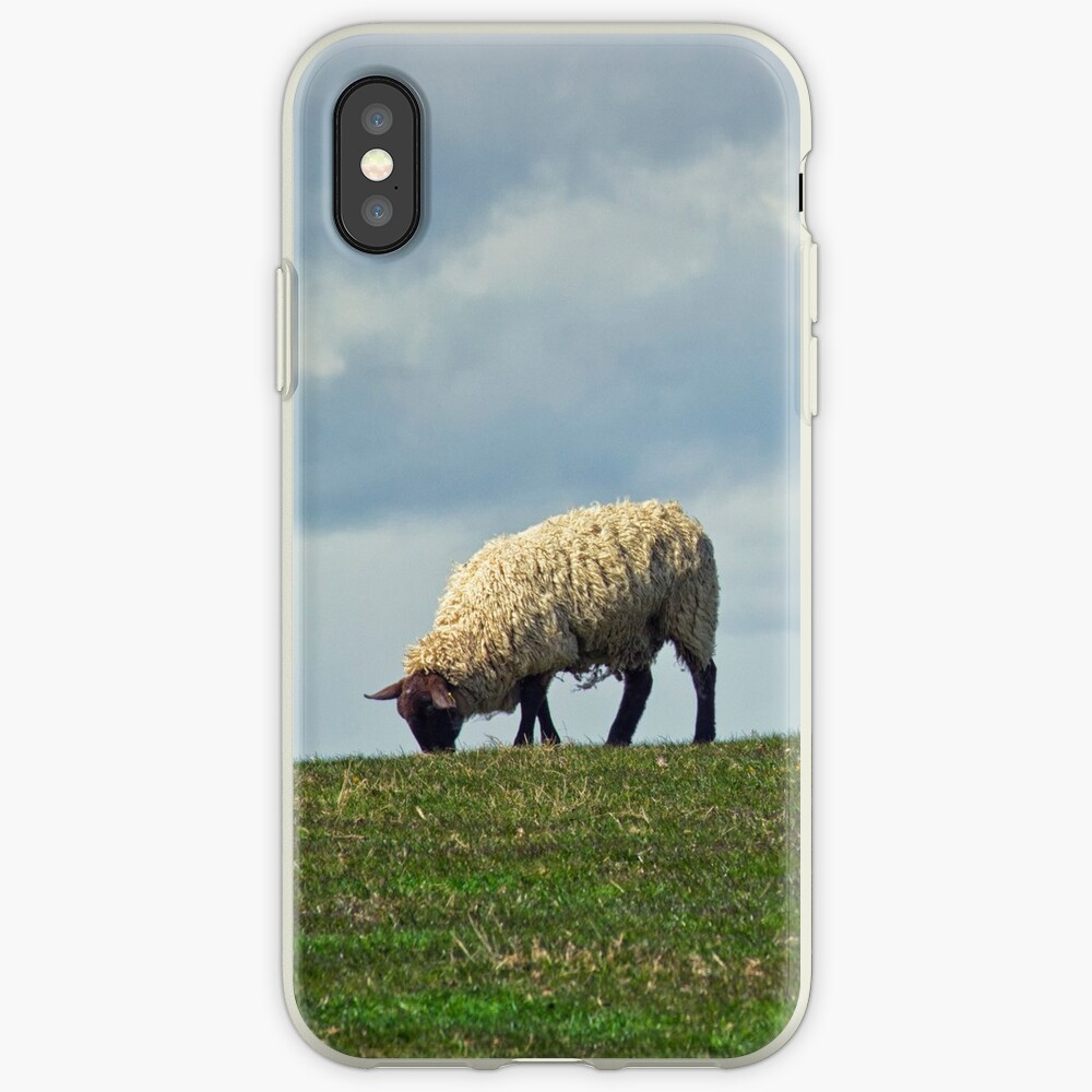 Sheep on the Hill iPhone Cases & Covers