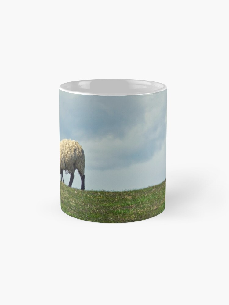 Alternate view of Sheep on the Hill Mugs