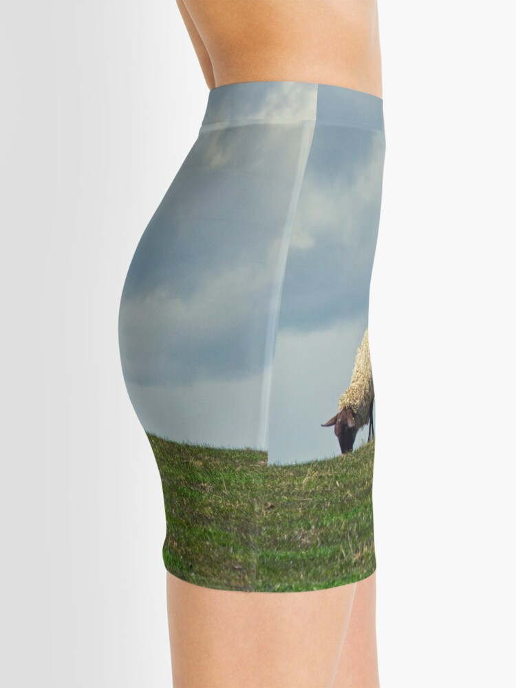 Alternate view of Sheep on the Hill Mini Skirt