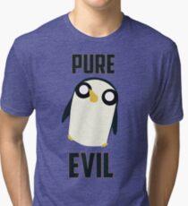 Evil is cute Tri-blend T-Shirt