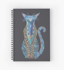 Cat Totem Spiral Notebook