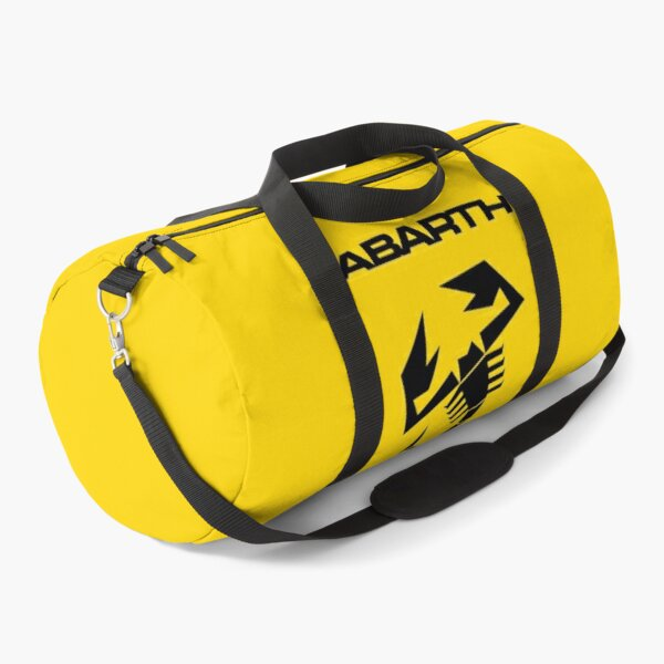 Abarth & scorpion (black) Duffle Bag