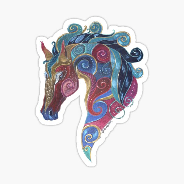 Horse Totem Sticker