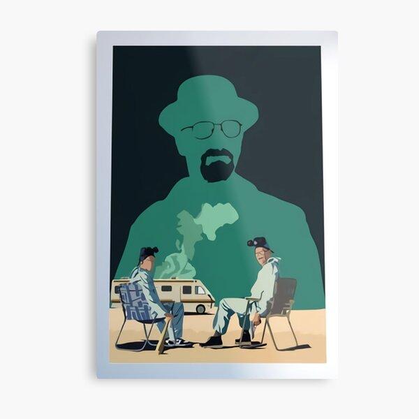 Breaking Bad Inspired Poster Metal Print