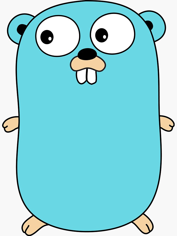 Golang Gopher by zoerab