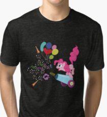 Pinkie Pie Cannon! Tri-blend T-Shirt