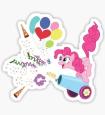 Pinkie Pie Cannon! Sticker