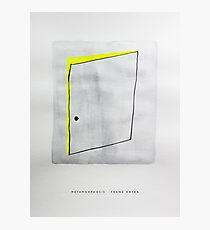 Classic Literature Cover: Metamorphosis - Franz Kafka Photographic Print