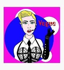 MDNA Vogue Photographic Print