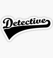 Detective Sticker