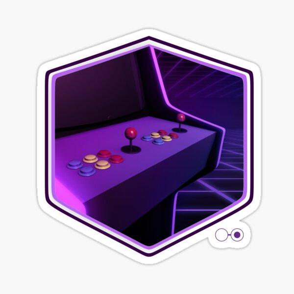 Arcade Gaming Sticker