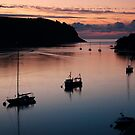 Dartmouth Estuary at Sunrise by Katieshires