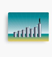 Business Success Chart 1 Canvas Print