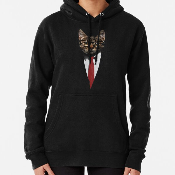 The Jacket Cat Pullover Hoodie