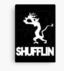 Discord Shuffilin' Canvas Print
