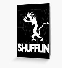 Discord Shuffilin' Greeting Card