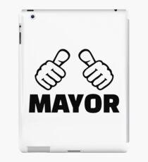 Mayor iPad Case/Skin