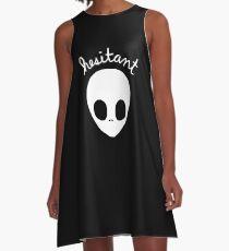 Gerard Way Hesitant Alien A-Line Dress
