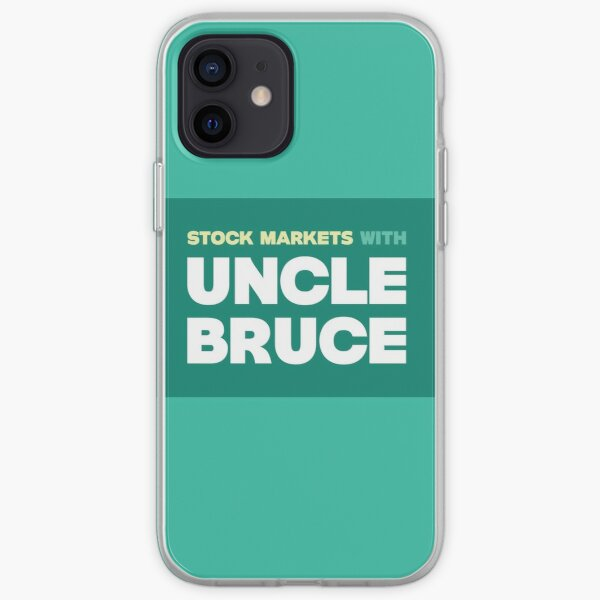 Colourful Uncle Bruce sign iPhone Soft Case