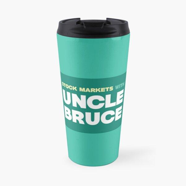 Colourful Uncle Bruce sign Travel Mug