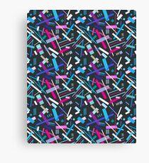 Colorful cool geometric pattern  Canvas Print