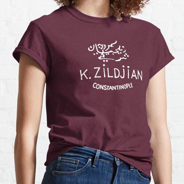 K. Zildjian Constantinople, White Logo Classic T-Shirt