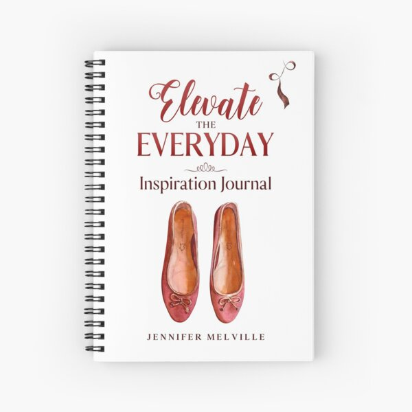 Elevate the Everyday Spiral Notebook