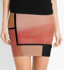 abstract trittico 3 Mini Skirt