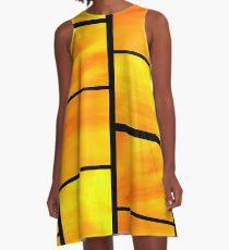 abstract trittico 1 A-Line Dress