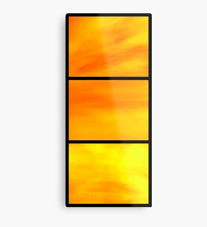 abstract trittico 1 Metal Print