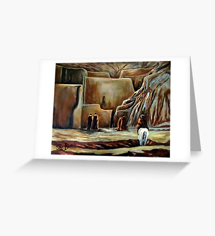 Coming To Meet, Restoration Greeting Card