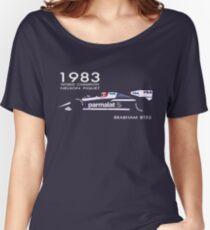 BRABHAM 1983 NELSON PIQUET (1) Women's Relaxed Fit T-Shirt