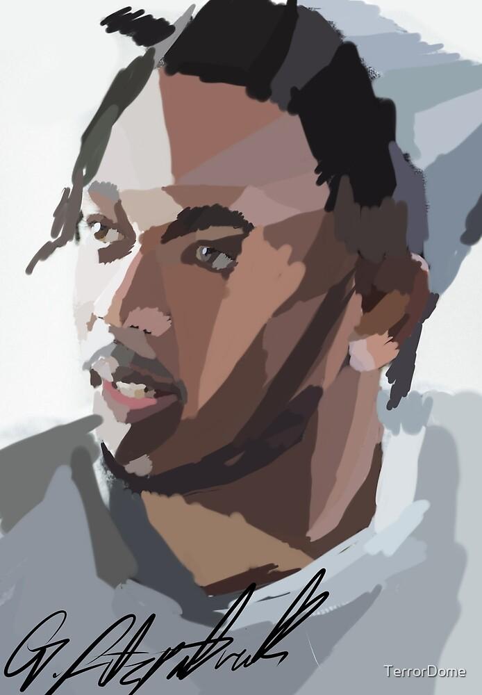 Kendrick Lamar Portrait by TerrorDome