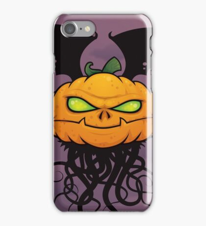 Punkin Monsta iPhone Case/Skin