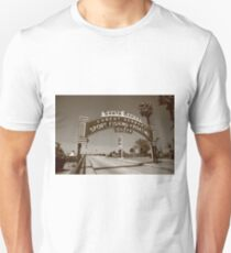 Route 66 - Santa Monica Pier T-Shirt
