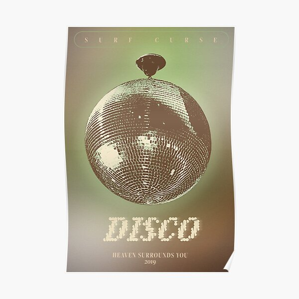 DISCO SURF CURSE POSTER Poster