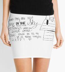 Snoopy Quote Mini Skirt