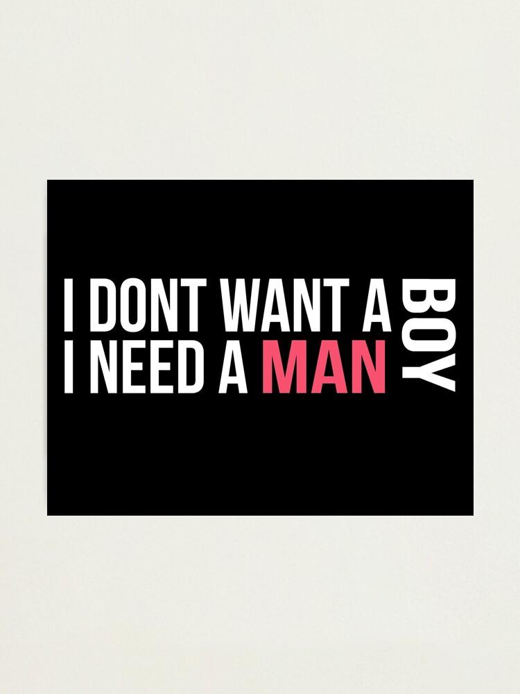 Dont want no short man lyrics