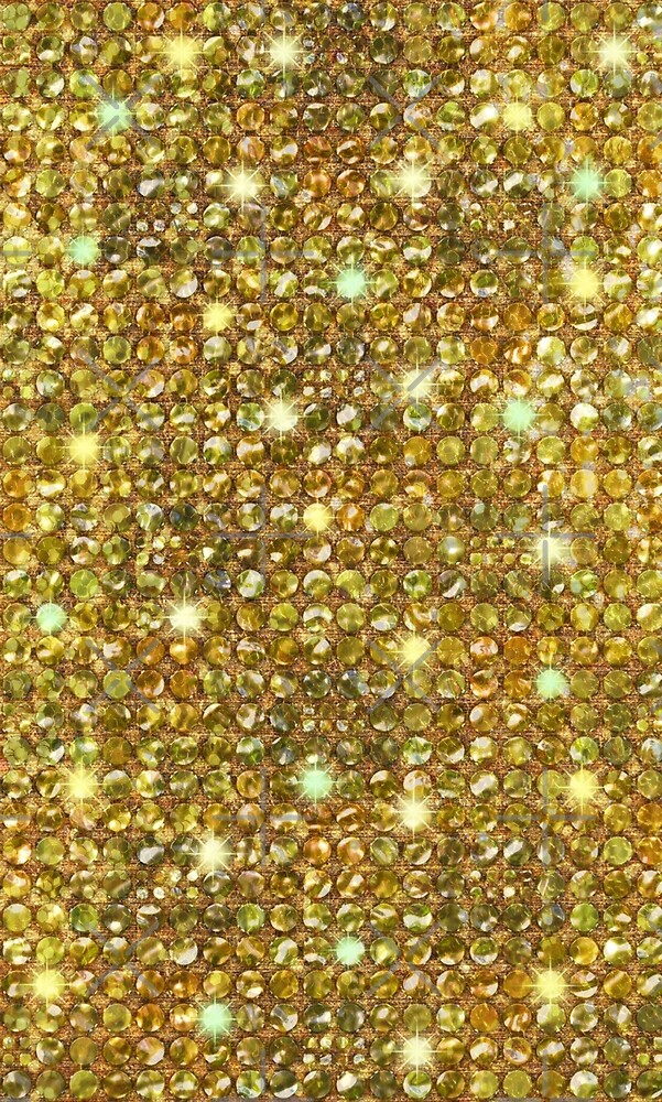 Gold Sequins And Sparkles by CiaoBellaLtd