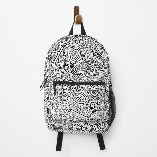 Keep Growing Original b&w  Backpack
