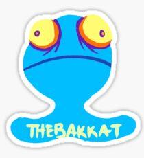 Blue ChuChu thebakkat Logo Sticker