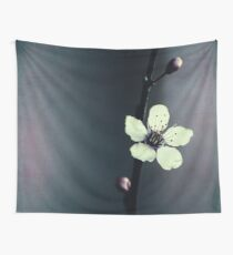 cherry blossom flower Wall Tapestry